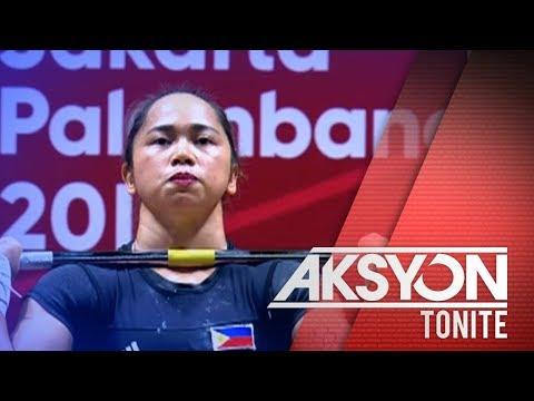 Hidilyn Diaz, nasungkit ang unang ginto ng Pilipinas sa 18th Asian Games