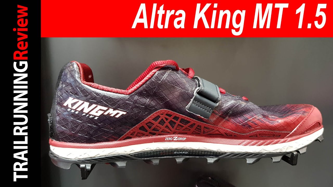 d06d71f6400 Altra King MT 1.5 Preview - YouTube