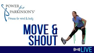 Power for Parkinson's Tuesday Move & Shout - Live Streaming 177
