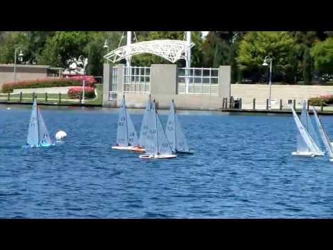 R608As Sailing R/C International One Metre