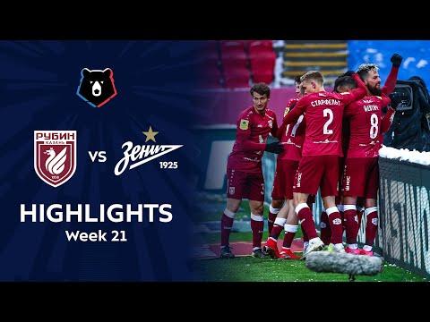 Rubin Kazan Zenit Petersburg Goals And Highlights