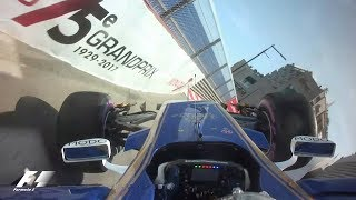 Button Flips Wehrlein Into The Barriers | F1 Most Dramatic Moments 2017