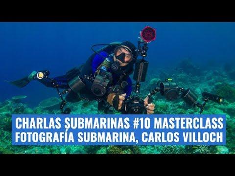 charlas-submarinas-#10-masterclass-de-fotografía-submarina-con-carlos-villoch