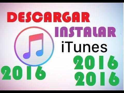 Como Descargar e Instalar iTunes 2017 última versión  | Windows 7, 8, 10
