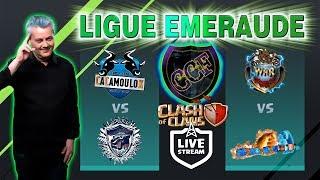 🔴 Ligue Emeraude de la CCF sur Clash of Clans fr