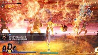 無雙大蛇3/Warriors Orochi 4 関銀屏 妖術解除戰 混沌難度 Pandemonium Difficulty (PC Steam 1440p 60fps)