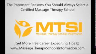 The Main Importance of Selecting a Certified Massage School
