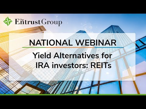 Yield Alternatives for IRA investors: REITs