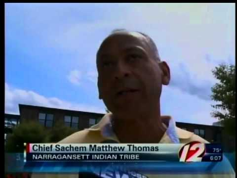 Narragansett Tribal Leaders Meet with RI Governor