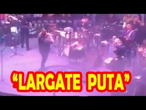P�blico Humilla a Karla Panini en Pleno Concierto!! Largo Zorra