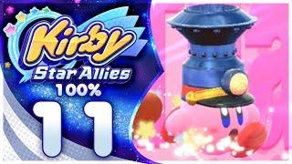 FRIEND TRAIN! Kirby Star Allies - 100% Walkthrough: Jambastion | Part 11!