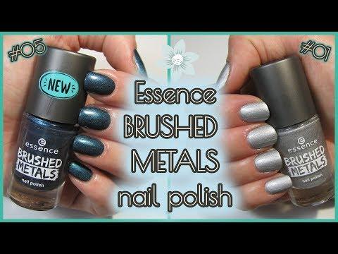 Essence BRUSHED METALS Nail Polish First Impression - Einfach Perfekt, Unperfekt