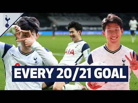 Heung-min Son's best ever goalscoring season! Every goal from Sonny's 20/21 campaign! 🇰🇷 손흥민