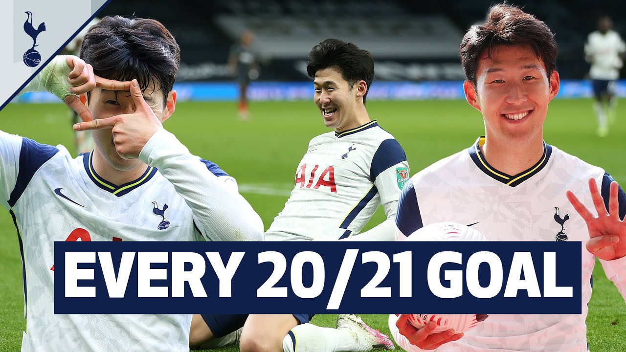 Download Heung-min Son's best ever goalscoring season! Every goal from Sonny's 20/21 campaign! 🇰🇷 손흥민