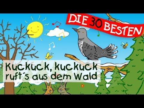 Kuckuck rufts aus dem Wald - Kinderlieder Klassiker zum Mitsingen