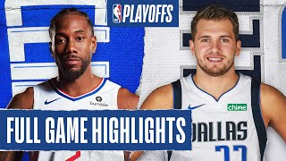 CLIPPERS at MAVERICKS | FULL GAME HIGHLIGHTS | August 23, 2020