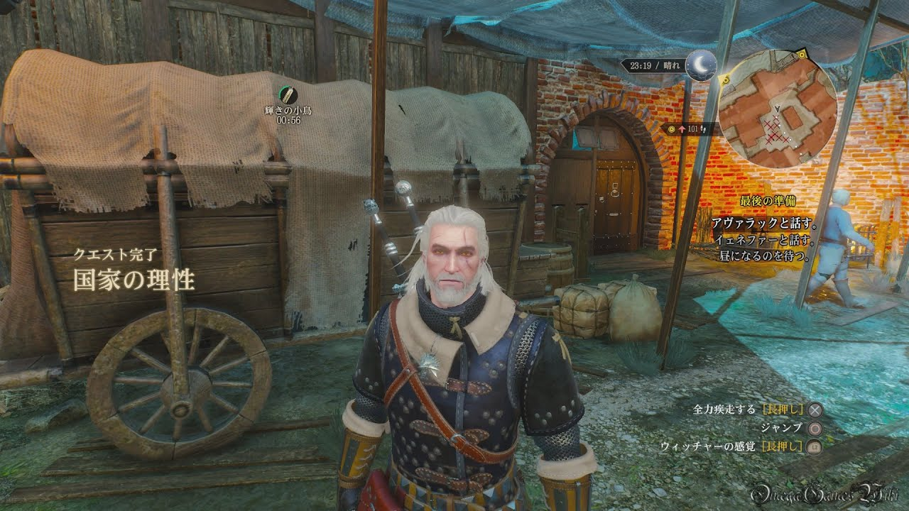【PS4】The Witcher 3 Wild Hunt , Part 207 Side Quest 国家の