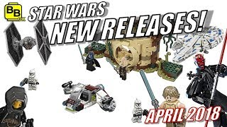 NEW!! LEGO STAR WARS SETS REVEALED FOR APRIL 2018!!