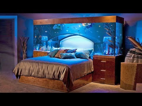 Aquarium Bed! Top 10 Unbelievably Cool Aquariums