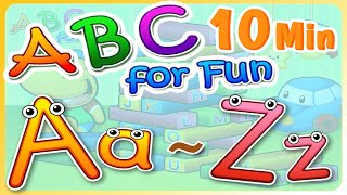 A to Z Letters | ABC Phonics | ABC for Fun