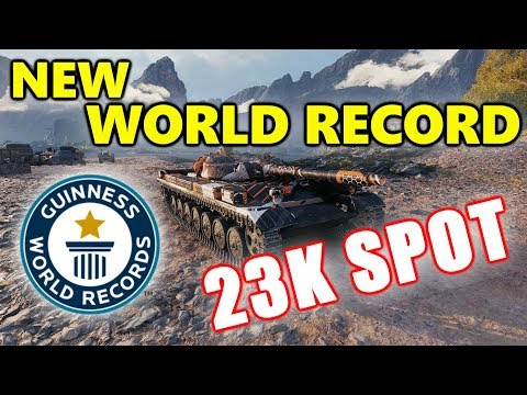 World of Tanks - T-100 LT - 23K SPOT DAMAGE - NEW WORLD RECORD! thumbnail