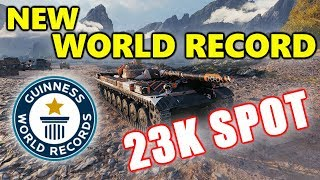 World of Tanks - T-100 LT - 23K SPOT DAMAGE - NEW WORLD RECORD!