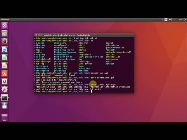 How to join Ubuntu       LTS to Active Directory Created in