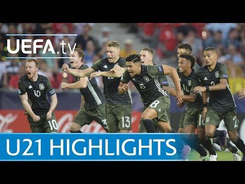 Under-21 highlights: England v Germany