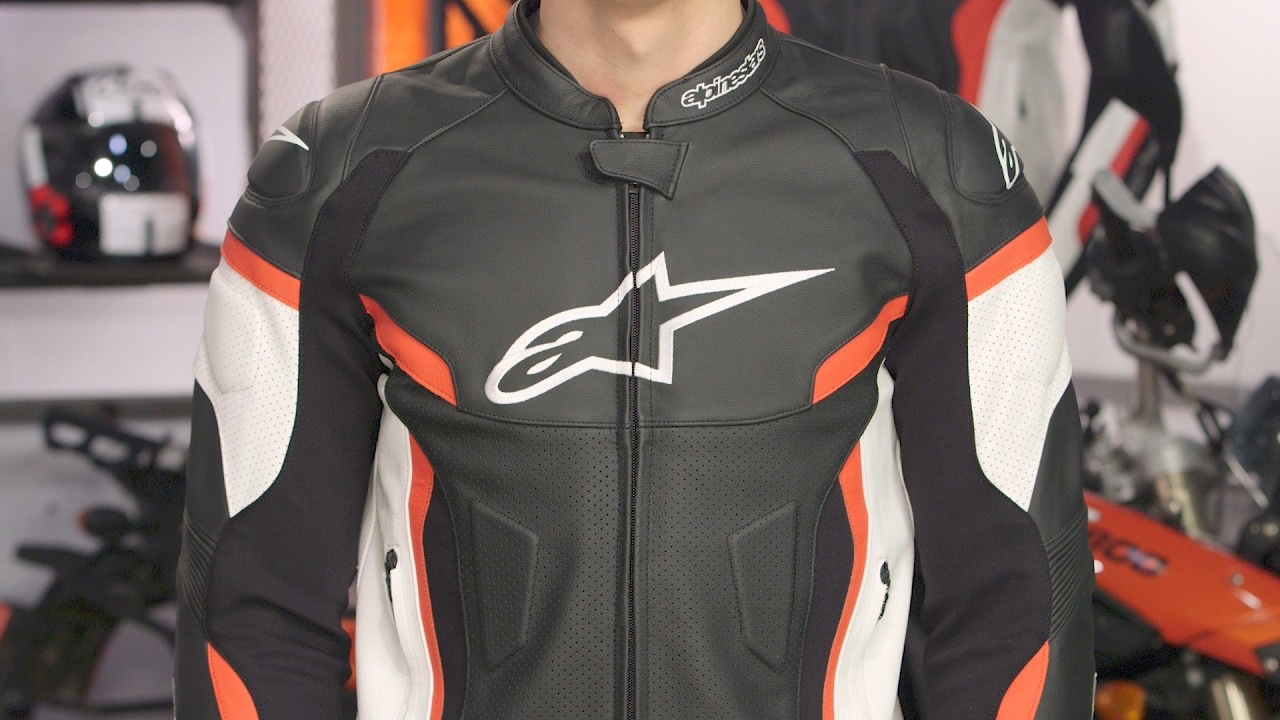 Alpinestars Jacket Leather >> Alpinestars GP Plus R v2 Jacket Review at RevZilla.com - YouTube