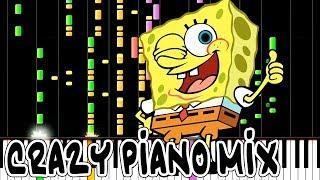 Crazy Piano Mix! SPONGEBOB SQUAREPANTS Theme