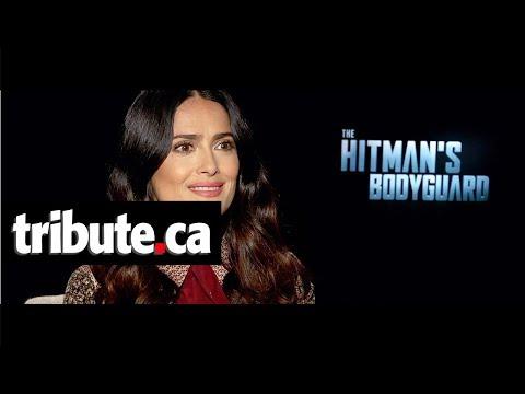 Salma Hayek - The Hitman's Bodyguard Interview