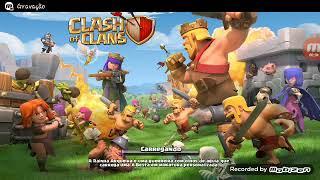 Upando minha vila e meus troféus (clash of clans)