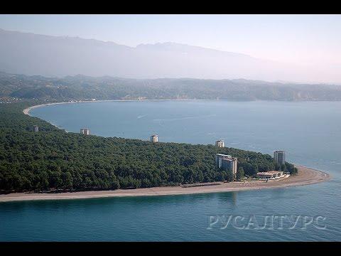 Пицунда Отдых в Абхазии на море Август 2015