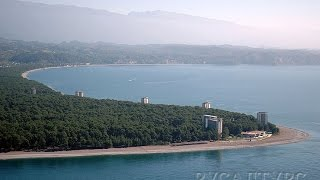 Пицунда Отдых в Абхазии на море Август 2015(Город расположен на одноимённом мысе на берегу Пицундской бухты Чёрного моря. лимат в Пицунде влажный сред..., 2016-03-01T10:41:31.000Z)