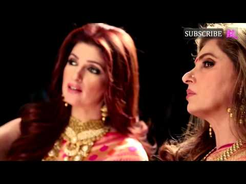 Dimple & Twinkle Shoot Together For Ranka Jewellers Making