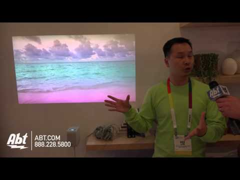 Sony LSPX-P1 Portable Short Throw Projector - Abt CES 2016