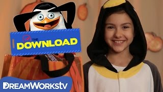 Penguins of Madagascar HALLOWEEN CANDY HAUL | THE DREAMWORKS DOWNLOAD