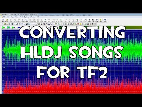 HLDJ - How to convert high quality songs