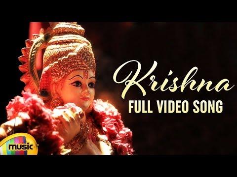 Krishna Nee Full Video Song | Telugu Carnatic Fusion Song | #Krishna | Mango Music
