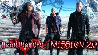 Devil May Cry 5 | Mission 20 | Final Battle + Full Ending