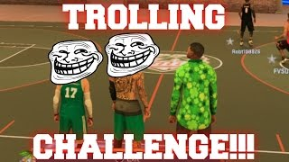 MyPark Trolling Challenge (Throwing Games on Purpose/Biggest Sellouts on 2K) - NBA 2K17 MyPark