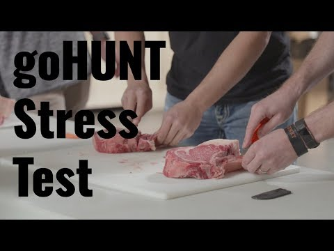 Putting hunting knives through the ringer — goHUNT Gear Stress Test
