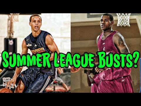 """4 Summer League """"BUSTS"""" Who Became NBA Stars"""