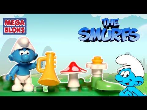 Smurf Mega Bloks | Unboxing Lazy Smurf & Harmony Smurf | Unboxing Toys