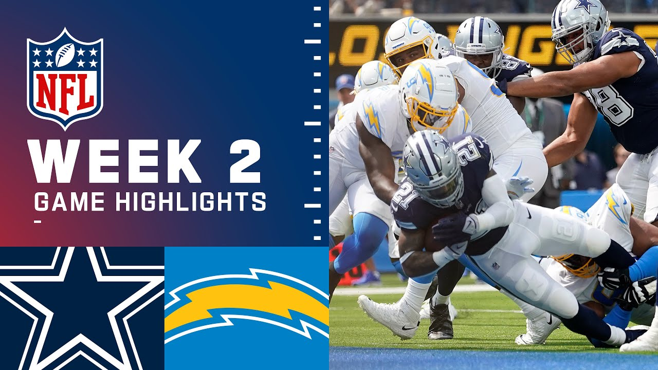 Download Cowboys vs. Chargers Week 2 Highlights   NFL 2021
