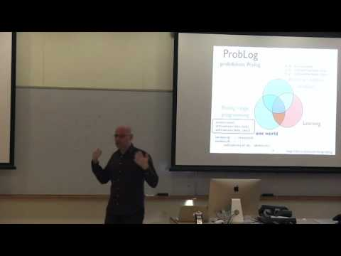 Probabilistic (Logic) Programming: Concepts and Applications - Luc De Raedt