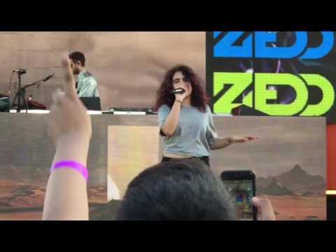 Zedd ft. Alessia Cara - Stay (Live - GMA Souncheck) 07/21/17
