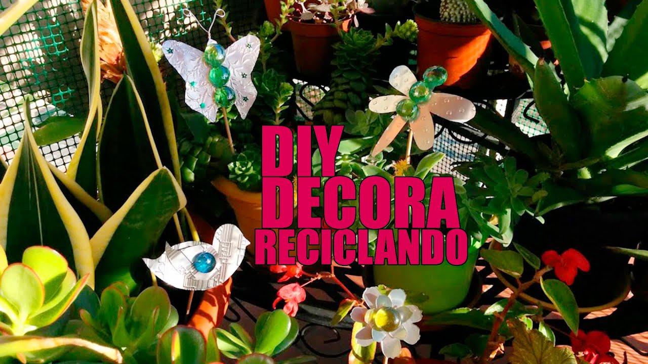 Adornos jardin reciclados foto with adornos jardin for Adornos jardin reciclados