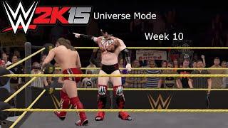 WWE 2k15 PC - Universe Mode Episode 11 - Week 10 - Deja Vu? Ally or Enemy?