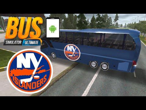 NEW YORK ISLANDERS BUS SKIN | BUS SIMULATOR ULTIMATE |